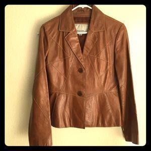 Real Leather Jacket Blazer
